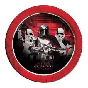 8 assiettes en carton Star Wars