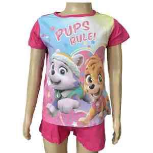 Pyjama court Pat Patrouille pups
