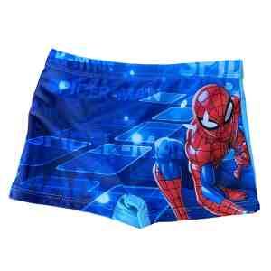 Boxer de bain bleu Spiderman