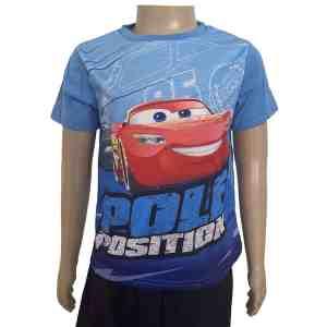 T-shirt manches courtes bleu Cars