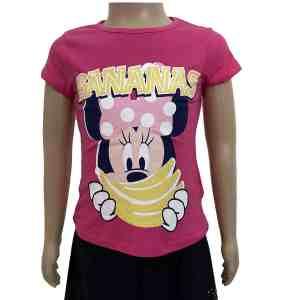 T-shirt manches courtes Minnie bananas