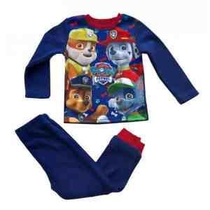 Pyjama polaire Pat Patrouille bleu foncé