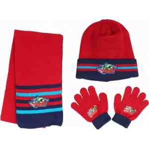 Ensemble bonnet, écharpe et gants Avengers
