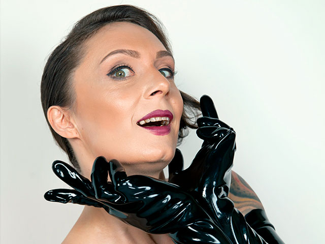 Lady Velvet Steel - Latex Gloves