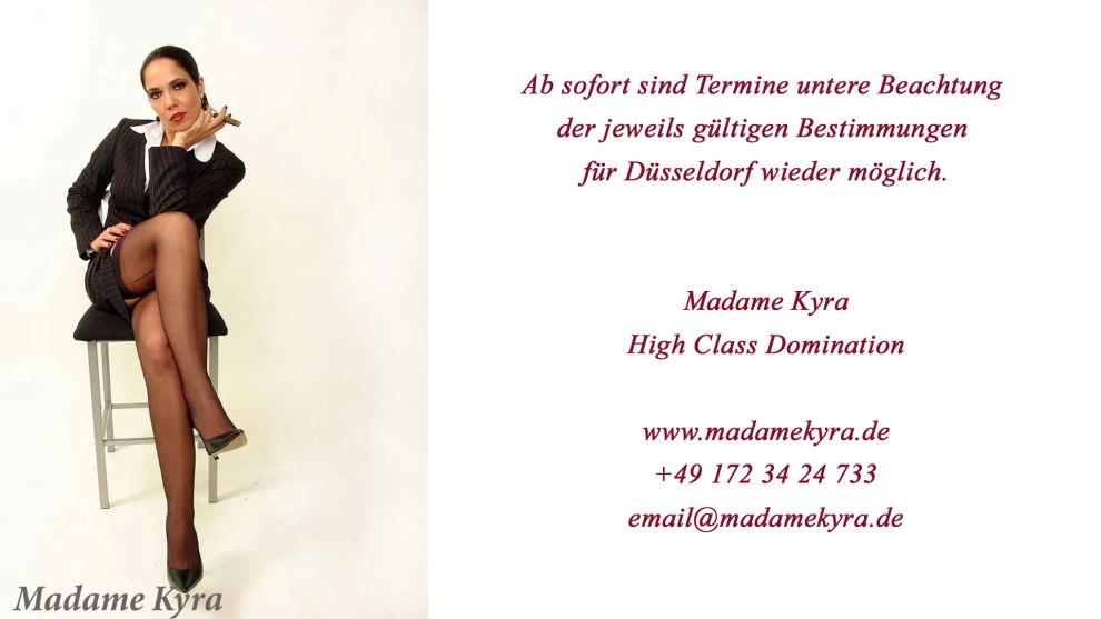Madame Kyra, Domina in Düsseldorf
