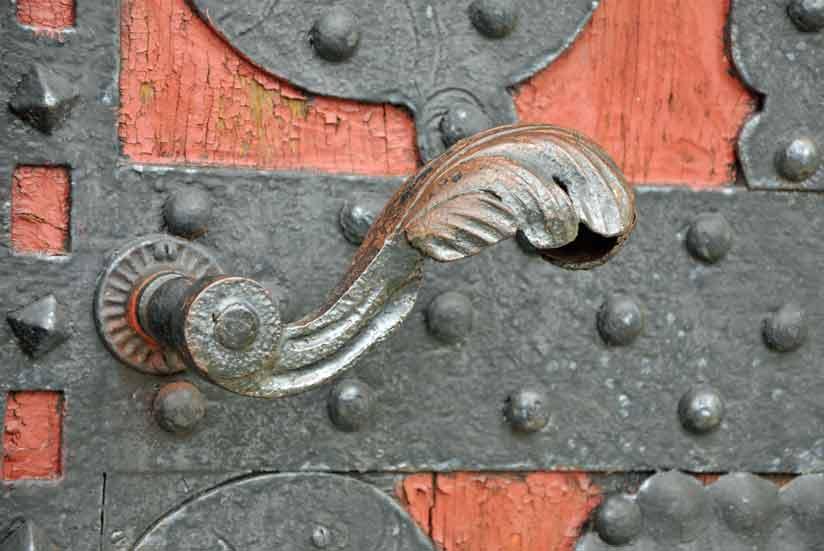 Świeże stare drzwi - DOM I NATURA XW73