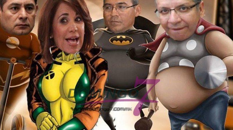super heroes politicos