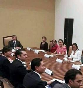 reunion de la presidenta de tehuacan con gobernador de puebla