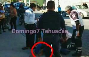 niño atropellado por policia