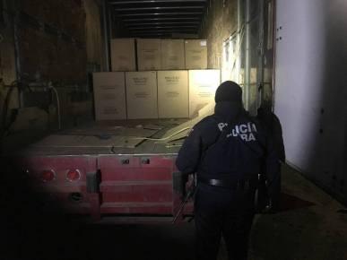 camiones robados en serdan