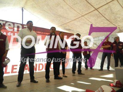 inicia campaña Alejandro Barroso por la diputacion federal del distrito 15