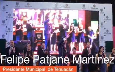 TOMA DE PROTESTA DE FELIPE PATJANE MARTINEZ