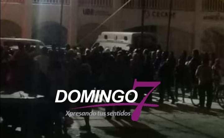 MUJER SE SUICIDA EN LOS SEPAROS DE SAN GABRIEL CHILAC, PUEBLO SE ENARDECE