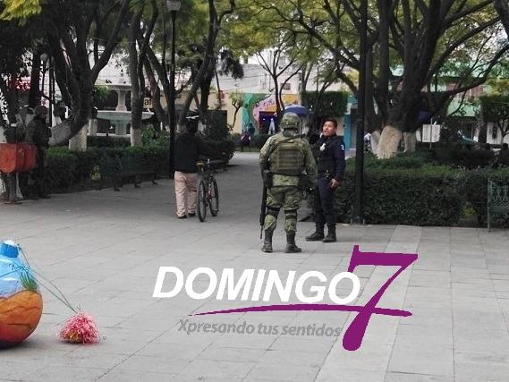 GUARDIA NACIONAL INICIA OPERATIVOS EN COLONIAS CONFLICTIVAS DE TEHUACÁN