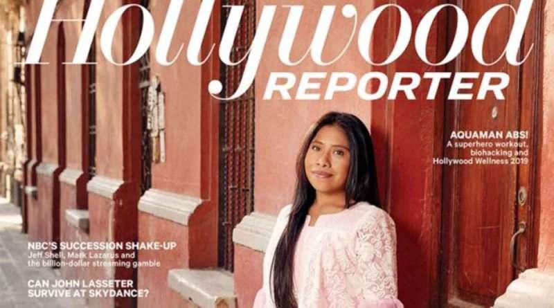 "YALITZA APARICIO EN PORTADA DE ""THE HOLLYWOOD REPORTER"""