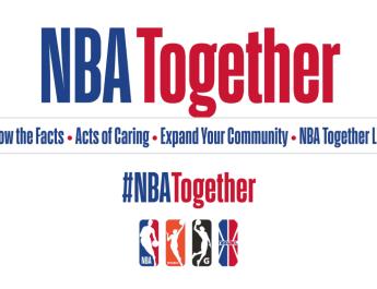 NBA LANZA  CAMPAÑA GLOBAL «NBA TOGETHER» PARA COMBATIR EL CORONAVIRUS