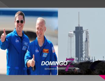 """DOUG HURLEY Y BOB BEHNKEN, LOS ASTRONAUTAS; HOY SPACEX Y LA NASA LANZARÁ COHETE """"CREW DRAGON"""""""