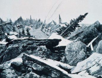 ASÍ FUE EL TERREMOTO DE ALASKA QUE PROVOCÓ UN TSUNAMI CON OLAS DE 67 METROS DE ALTURA