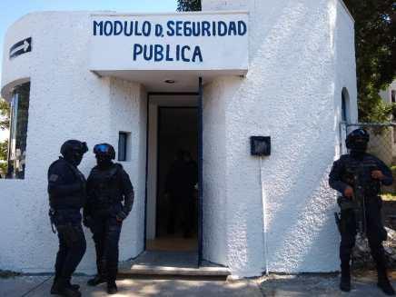 MÓDULO DE SEGURIDAD TEHUACAN