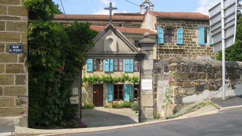 Accueil du monastère