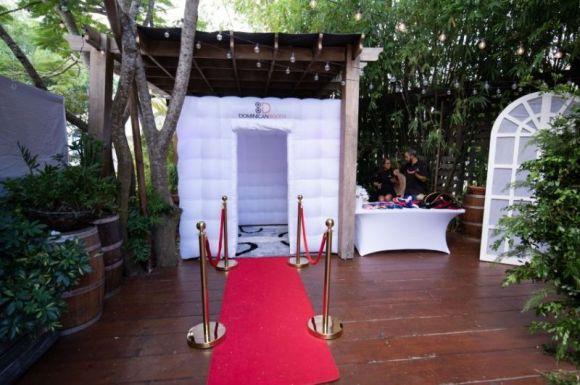 alfombra roja photo booth republica dominicana