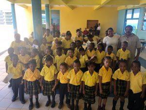 Kalinago childrenbenefit from fundraiser