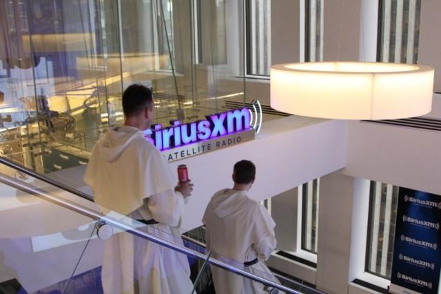 Dominican Friars at Sirius XM.