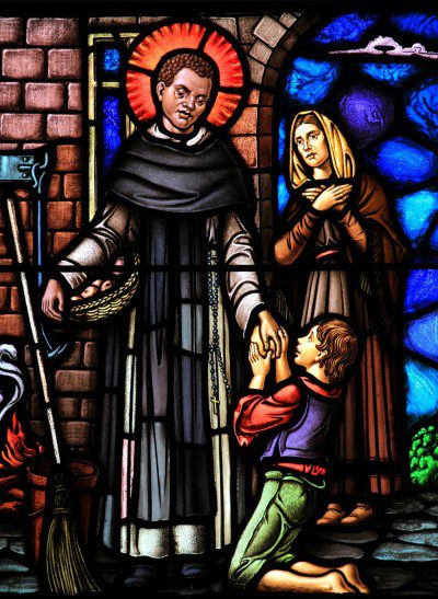 Stained Glass Window from St. Dominic's Church in Washington, D.C. Photo: Fr. Lawrence Lew, O.P.