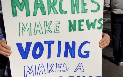 Marches Make News, Voting Makes A Difference