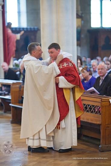 Vesting of Fr. Colm