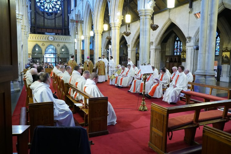 St. Saviour's Dublin - Ordination Mass