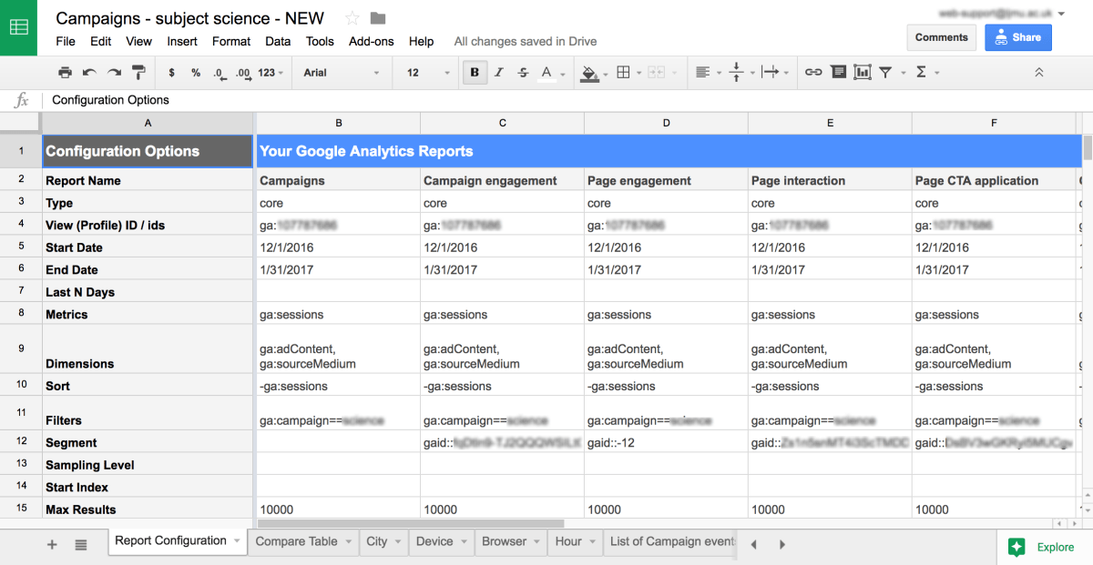 Google analytics add-on for google sheets: Top tips and common ...