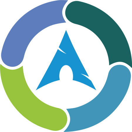 Synergy on Arch Linux logo