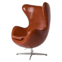 Jacobsen lounge chair. Egg Chair Leather. Design Lounge.