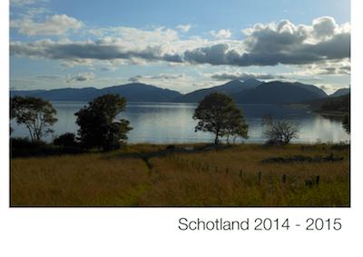 North Ballachulish & Isle of Mull juli 2014 – Kilchrenan augustus 2015