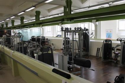 Fitnessgeräte im HAW Studio