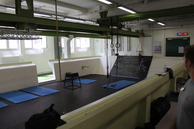 Blick auf Functional-Training Bereich des HAW Studio