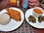 Rice and fish with sauce (wali samaki na juice) Dodoma TZS 8000