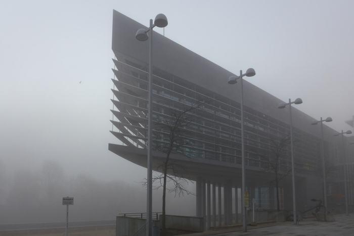 foggy Landhaus...