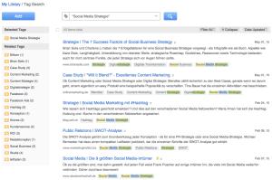 Diigo Social Bookmarking