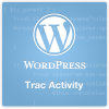 WordPress Trac Activity Logo