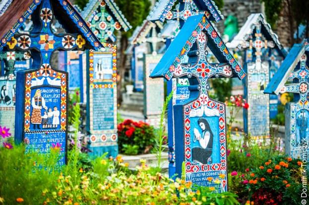 Rumunia, Sapanta, Wesoły Cmentarz, -8920