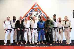 Lucas Lepri Seminar black belts