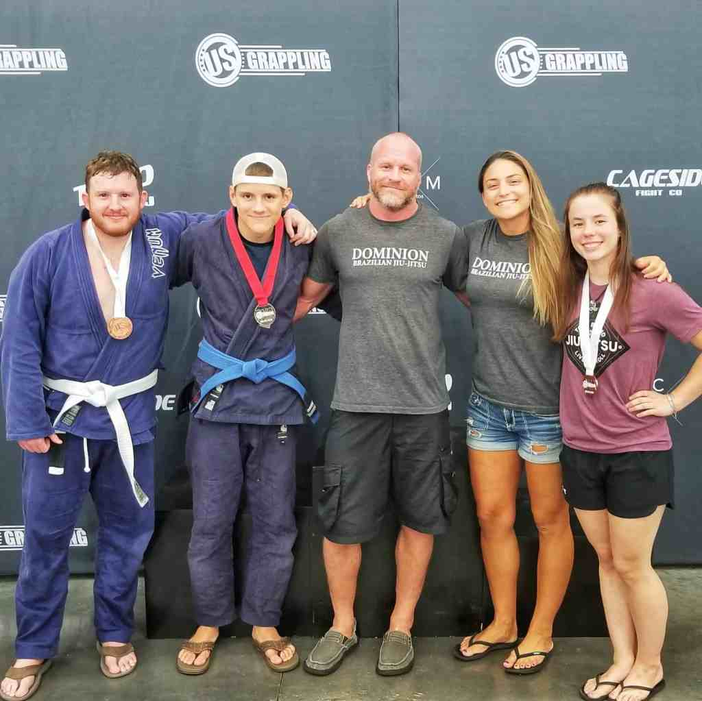 Dominion BJJ Team Competes in Richmond Tournament