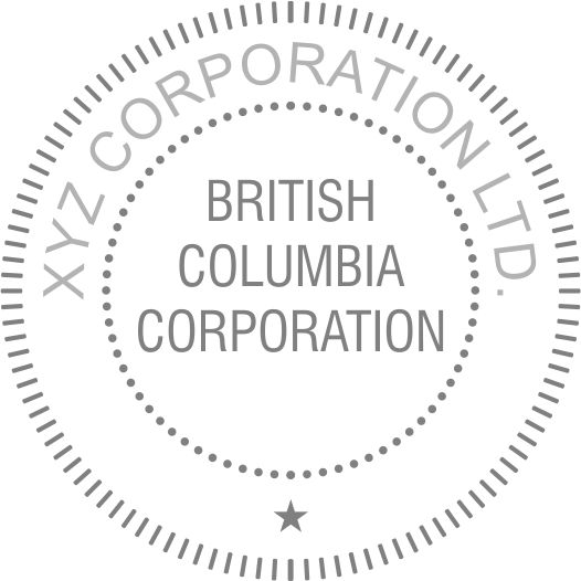 Corporate Desk Seal (Province)