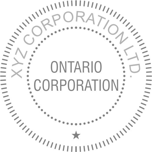 Long Reach Provincial Corporate Desk Seal