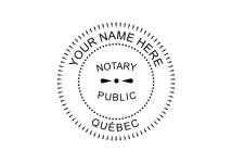 British Columbia Notary Public Embosser