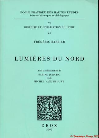 Lieu De Publication D'un Livre : publication, livre, Livre, XVIIIe, Siècle, Dominique, Varry