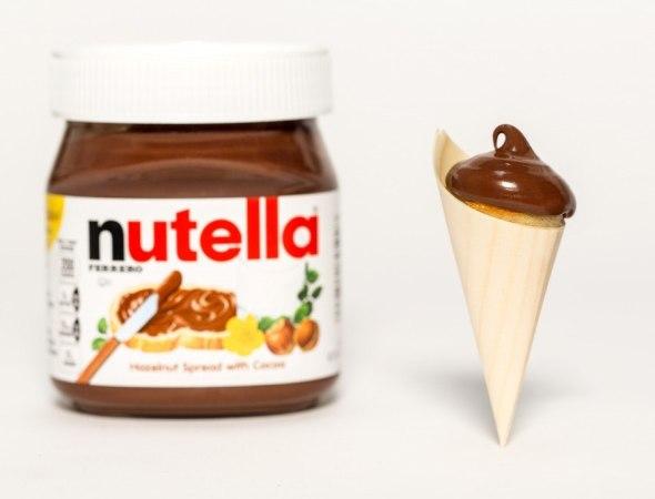 Nutella Pancake Cone