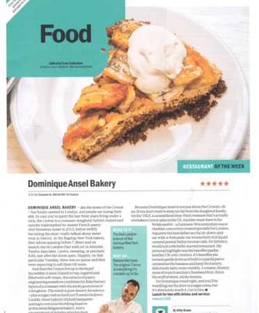 Five stars for DAB London from Time Out London